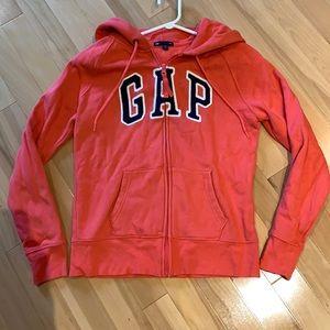 Pink Salmon GAP Zip up hoodie - size S